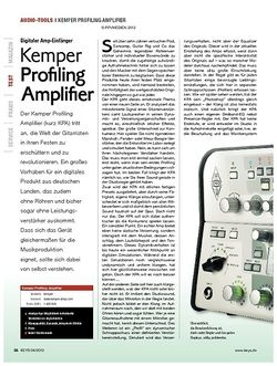 KEYS Kemper Profiling Amplifier