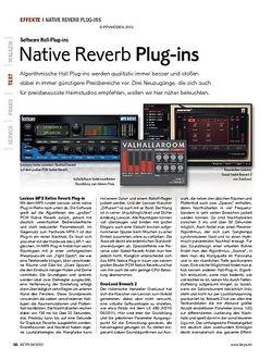 KEYS Native Reverb Plug-ins