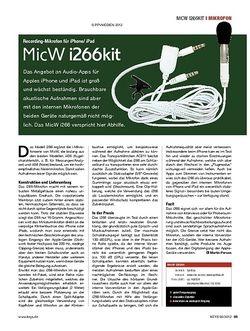 KEYS MicW i266kit