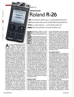 KEYS Roland R-26