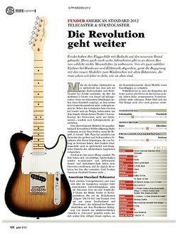 Guitar gear E-Gitarre - Fender American Standard 2012 Telecaster & Stra