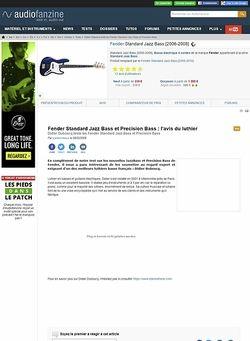 Audiofanzine.com Fender [Standard Series] Jazz Bass - Brown Sunburst Rosewood