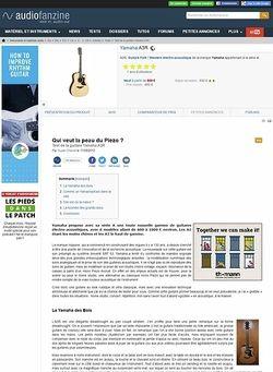 Audiofanzine.com Yamaha [A Series] A3R - Natural