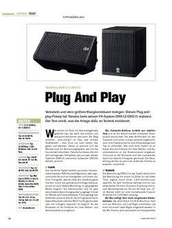 Tastenwelt Test: Yamaha DXR12 & DXS15 - Plug And Play