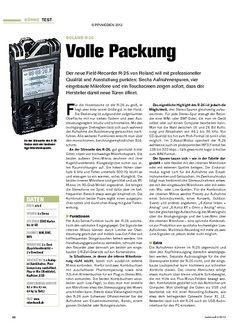 Tastenwelt Test: Roland R-26 - Volle aAckung