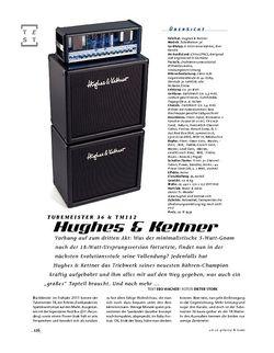 Gitarre & Bass Hughes & Kettner TubeMeister 36 & TM112, Tube-Stack