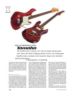 Gitarre & Bass Yamaha PAC-611HFM/PAC-510V, E-Gitarren