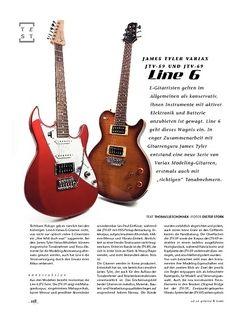 Gitarre & Bass Line 6 James Tyler Variax JTV-59 und JTV-69, E-Gitarren