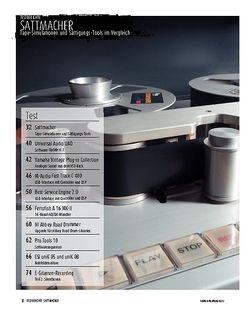 Sound & Recording Sattmacher im Vergleich