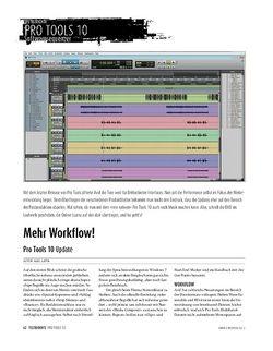 Sound & Recording Pro Tools 10 − Update