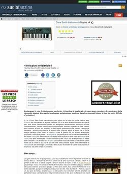 Audiofanzine.com Dave Smith Instruments Mopho x4