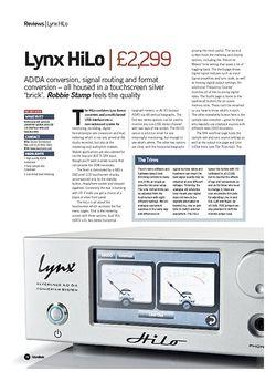 Future Music Lynx HiLo