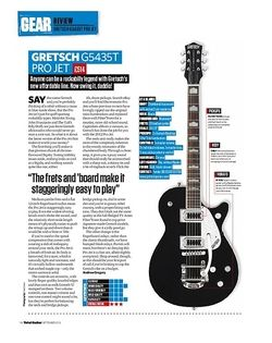 Total Guitar GRETSCH G5435T PRO JET