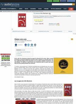 Audiofanzine.com TC Helicon [VoiceTone Series] Mic Mechanic
