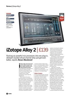 Future Music iZotope Alloy 2