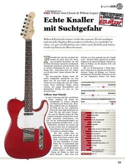 guitar gear E-Gitarre - G&L Tribute Asat Classic & Tribute Legacy