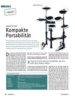 Soundcheck Test E-Drumset: Roland TD-4 KP