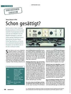 Soundcheck Test Bandmaschinensimulation: Slate Digital VTM