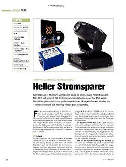 Tastenwelt Test: Stairville LumiDMX MH-X25 Bundle - Heller Stromsparer