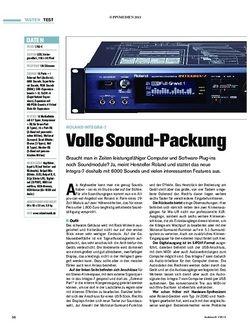 Tastenwelt Test: Roland Integra-7 - Volle Sound-Packung
