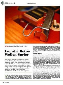 guitar Artec Vintage Humbucker & P-90