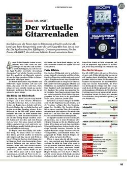 guitar Zoom MS-100BT
