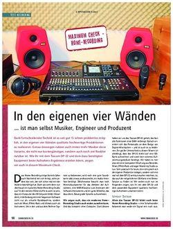Soundcheck Maximum Check: Home-Recording