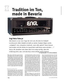 Gitarre & Bass Engl Retro Tube 50