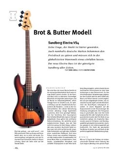 Gitarre & Bass Sandberg Electra VS4, E-Bass