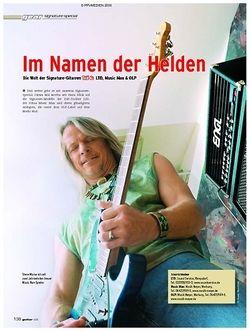 Guitar Im Namen der Helden: Signature-Special