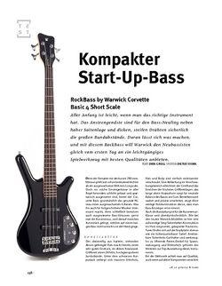 Gitarre & Bass RockBass Corvette Basic 4 Short Scale, E-Bass