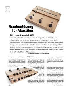 Gitarre & Bass RMI / Lehle Acouswitch IQ DI, Acoustic-Switcher