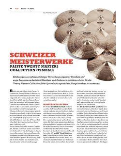 Sticks Paiste Twenty Masters Collection Cymbals