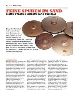 Sticks Meinl Byzance Sand Cymbals