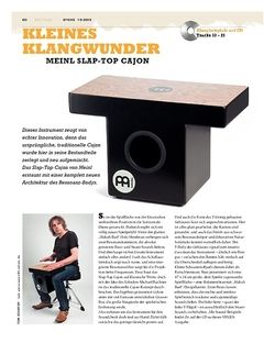Sticks Meinl Slap-Top Cajon