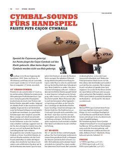 Sticks Paiste PST8 Cajon-Cymbals