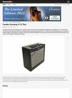 Bonedo.de Fender Mustang II V.2