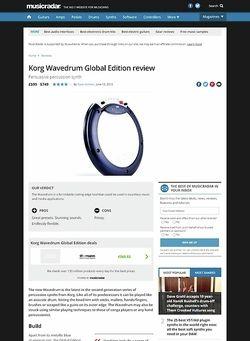 MusicRadar.com Korg Wavedrum Global Edition