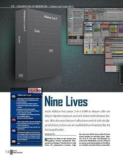Professional Audio Ableton Live 9 Suite (Teil 1)
