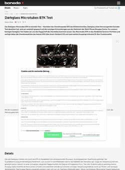 Bonedo.de Darkglass Microtubes B7K Test