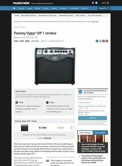 MusicRadar.com Peavey Vypyr VIP 1