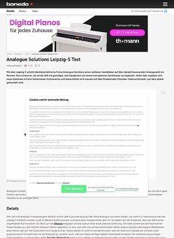 Bonedo.de Analogue Solutions Leipzig-S Test