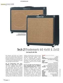 Guitar Test: Tech 21 Trademark 60 4x10 & 2x12