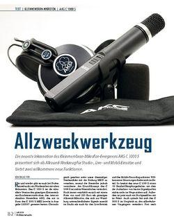 Professional Audio AKG C 1000 S