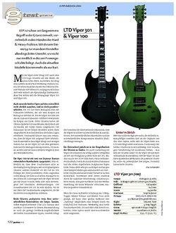 Guitar Test: LTD Viper 301 & Viper 100