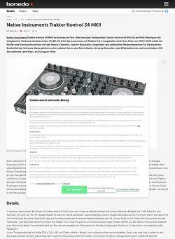 Bonedo.de Native Instruments Traktor Kontrol S4 MKII