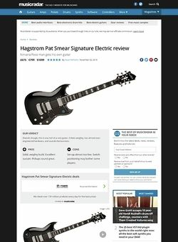 MusicRadar.com Hagstrom Pat Smear Signature Electric