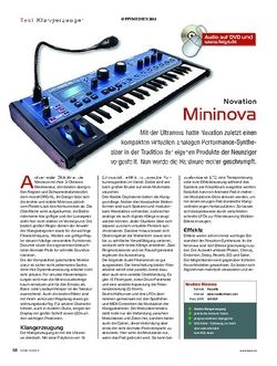 KEYS Novation Mininova