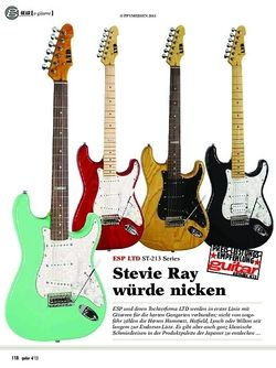 Guitar ESP LTD ST-213 Series