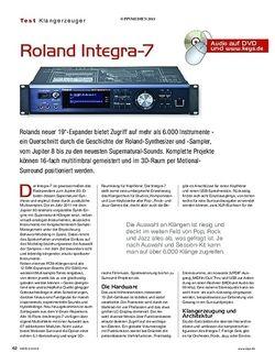 KEYS Roland Integra-7